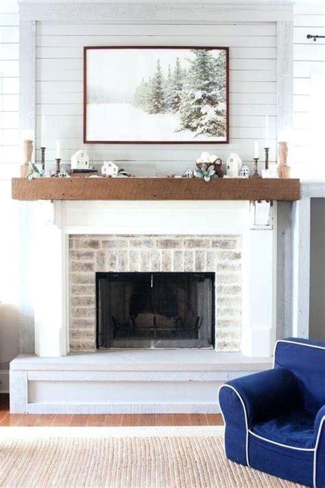 Diy-White-Wood-Mantel