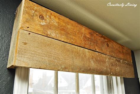Diy-Window-Valance-Wood
