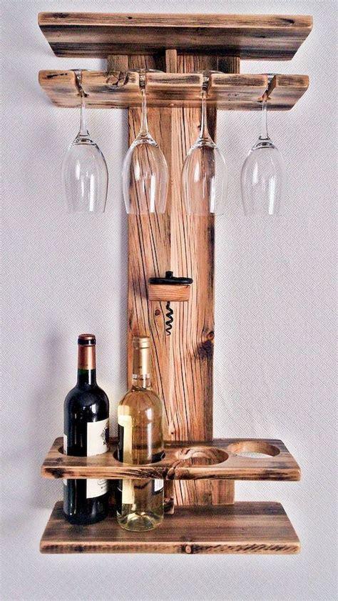 Diy-Wine-And-Wine-Glass-Rack