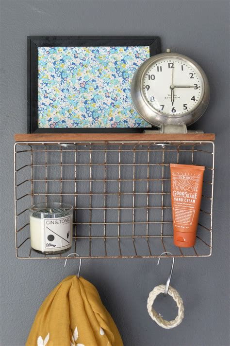 Diy-Wire-Basket-Shelf