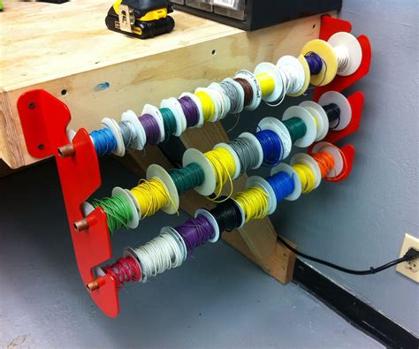 Diy-Wire-Cable-Rack
