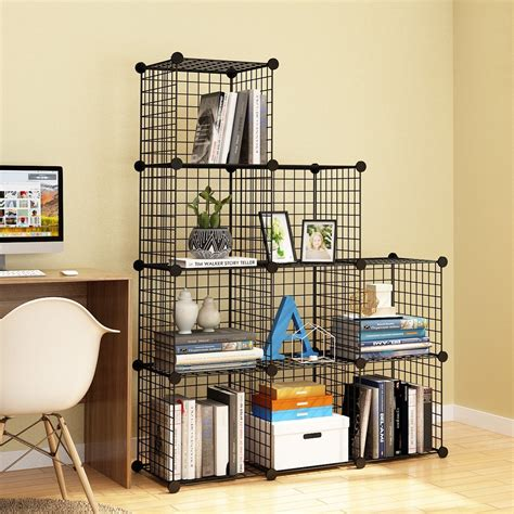 Diy-Wire-Cube-Shelving-System