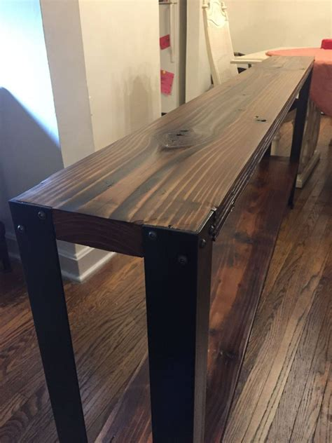 Diy-Wood-And-Iron-Desk