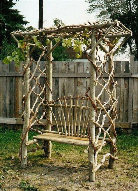Diy-Wood-Arbor-Bench