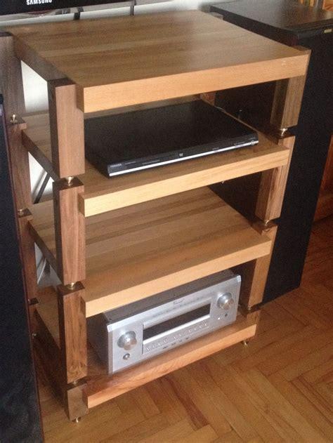 Diy-Wood-Audio-Rack