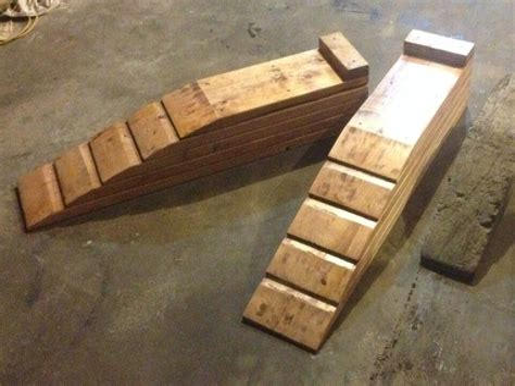 Diy-Wood-Auto-Ramps