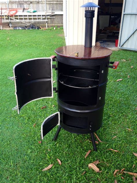 Diy-Wood-Barrel-Smoker
