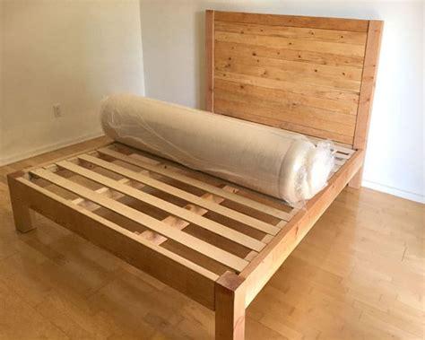 Diy-Wood-Bed-Frame-And-Headboard