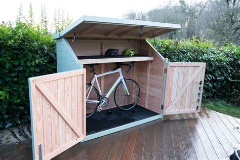 Diy-Wood-Bike-Shed