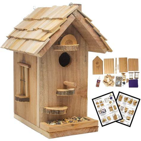 Diy-Wood-Birdhouse-Craft-Kit