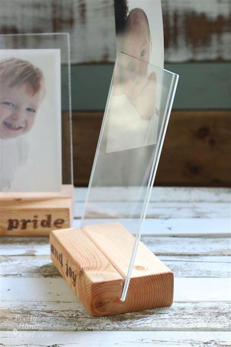 Diy-Wood-Block-Picture-Frame
