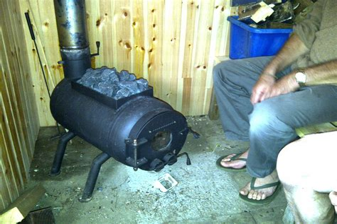 Diy-Wood-Burning-Sauna-Heater