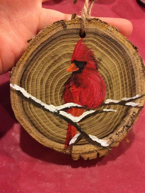 Diy-Wood-Cardinal-Ornaments