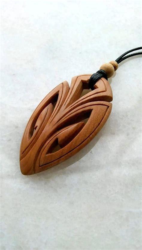 Diy-Wood-Carved-Pendants