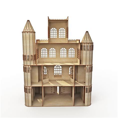 Diy-Wood-Castle-Dollhouse