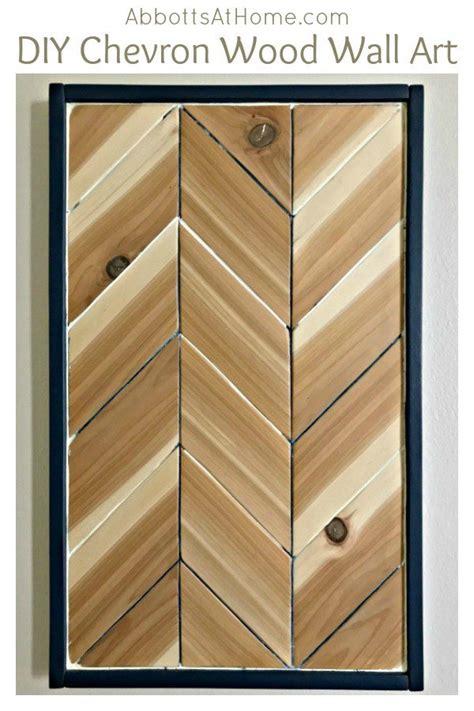 Diy-Wood-Chevron-Wall
