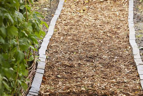 Diy-Wood-Chip-Path