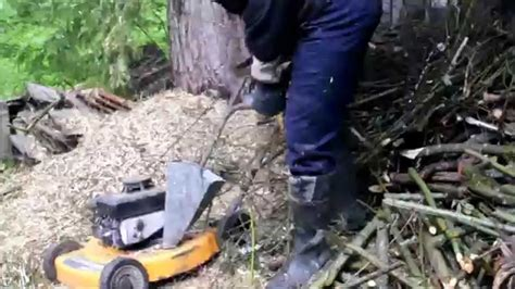 Diy-Wood-Chipper-From-Lawn-Mower