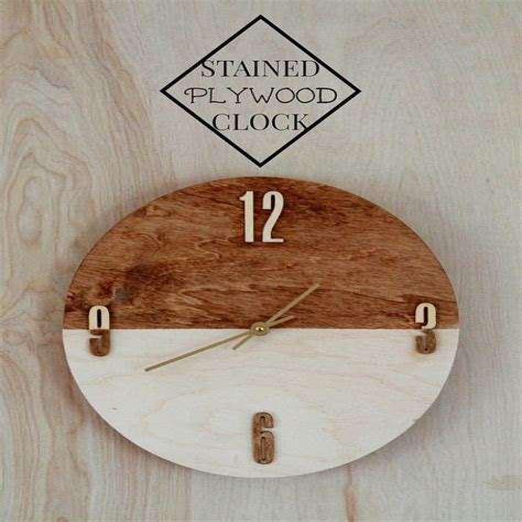 Diy-Wood-Clock-Tutorial
