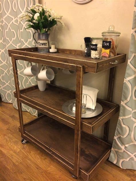 Diy-Wood-Coffee-Cart