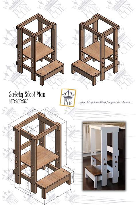 Diy-Wood-Counter-Height-Step-Stool