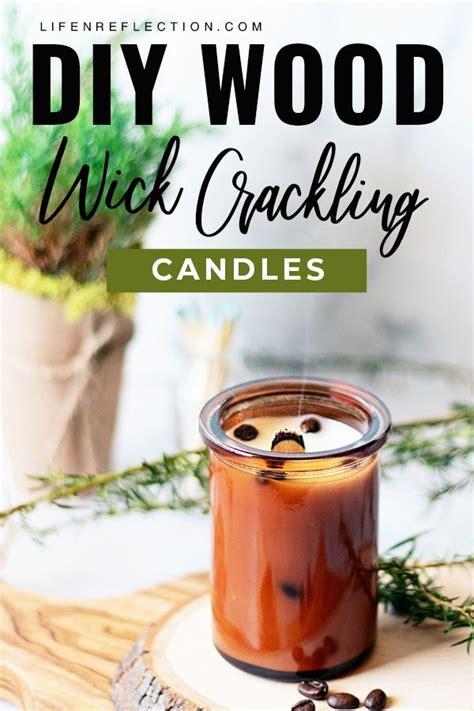 Diy-Wood-Cracking-Candle