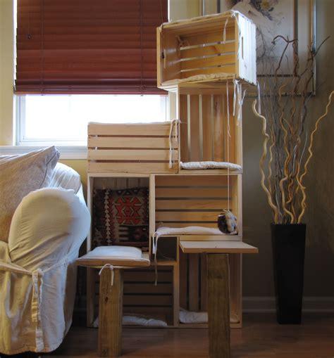 Diy-Wood-Crate-Cat-Tree
