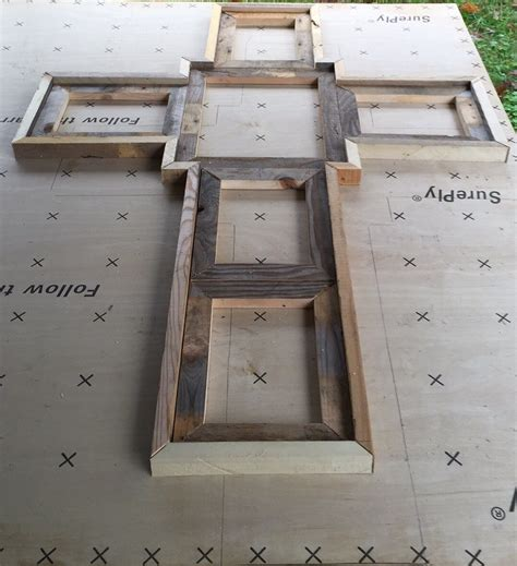 Diy-Wood-Cross-Picture-Frame