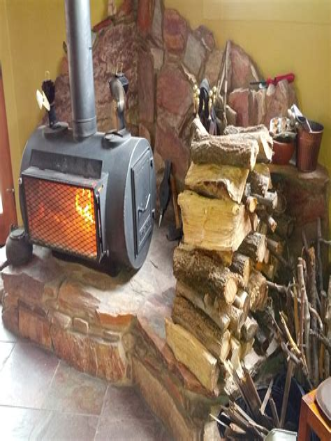 Diy-Wood-Fireplace-Build