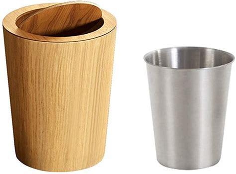 Diy-Wood-Flip-Bin-Countertop-Wastebaseket