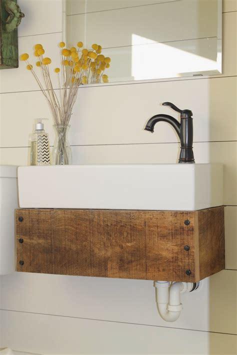 Diy-Wood-Floating-Vanity