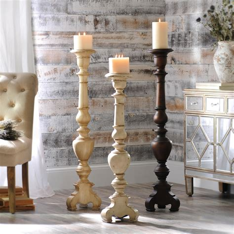 Diy-Wood-Floor-Candle-Holders