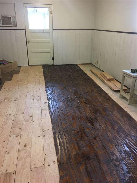 Diy-Wood-Flooring-With-Plywood