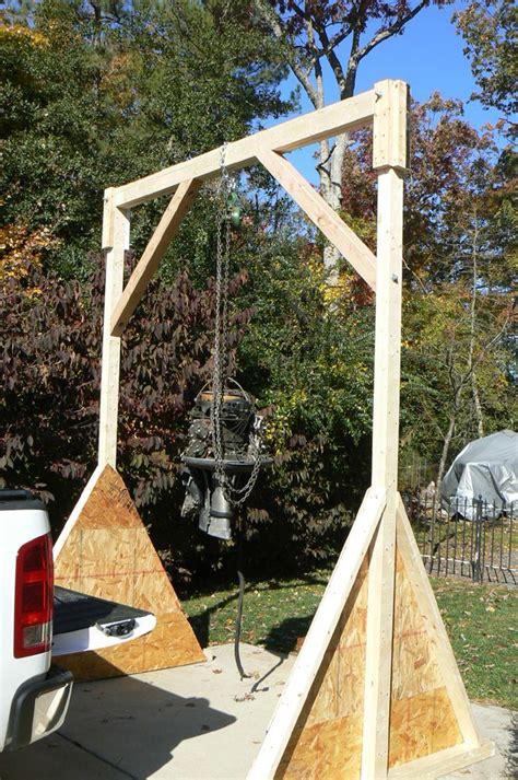 Diy-Wood-Gantry-Crane