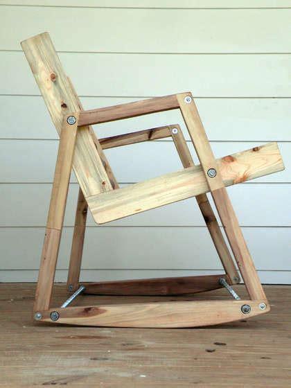 Diy-Wood-Hinge-Rocking-Chair