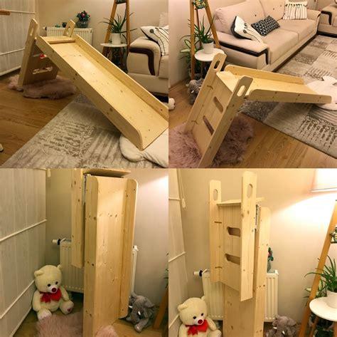 Diy-Wood-Indoor-Slide