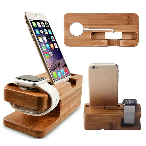 Diy-Wood-Iphone-Charging-Station
