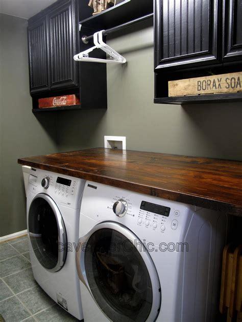 Diy-Wood-Laundry-Countertop