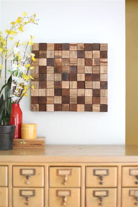 Diy-Wood-Mosaic-Wall-Art