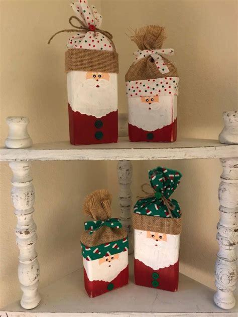 Diy-Wood-Outdoor-Santa-And-Rudolph