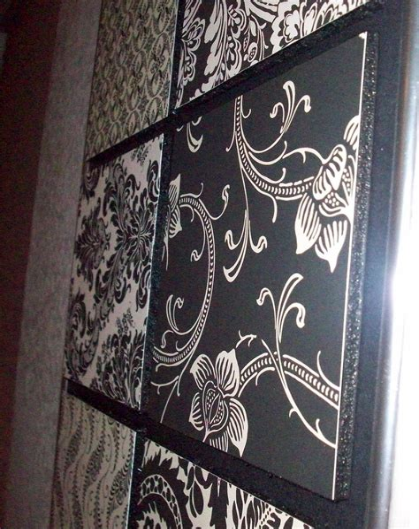 Diy-Wood-Panel-Scrapbook-Paper-Wall-Decor
