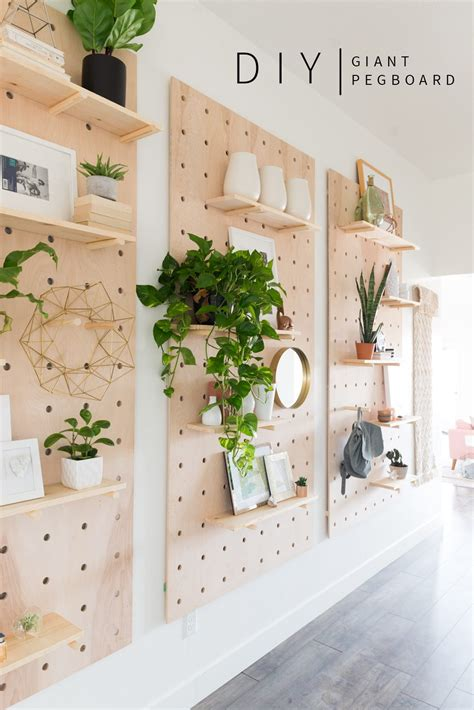 Diy-Wood-Pegboard