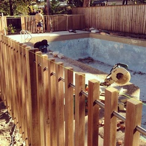 Diy-Wood-Pool-Fence