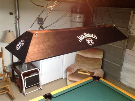 Diy-Wood-Pool-Table-Light
