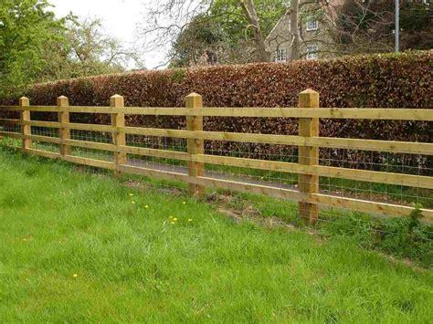 Diy-Wood-Post-And-Rail-Fence