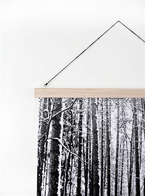 Diy-Wood-Poster-Rails