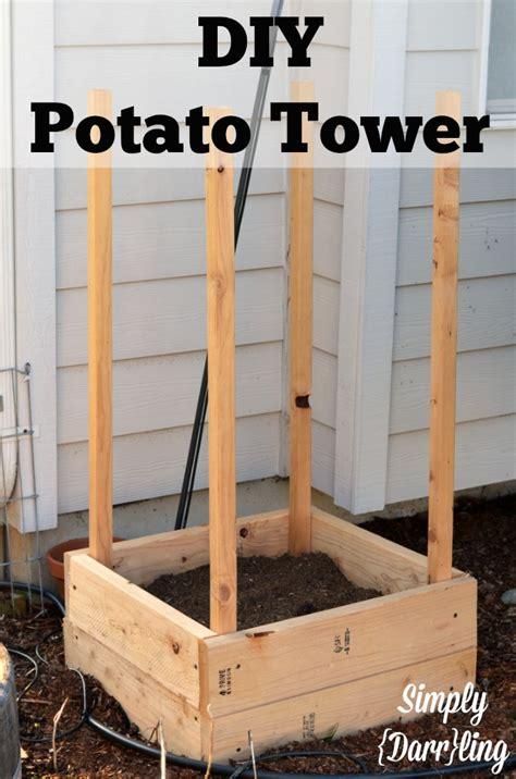 Diy-Wood-Potato-Tower