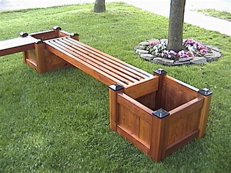 Diy-Wood-Projects-Planter-Box-And-Bench
