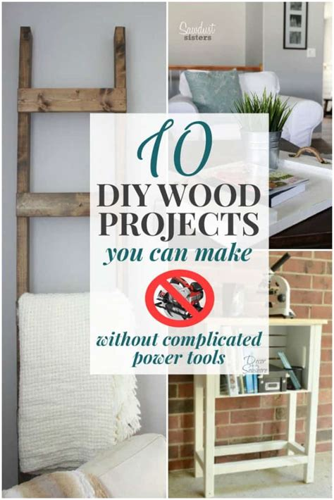 Diy-Wood-Projects-Without-Power-Tools