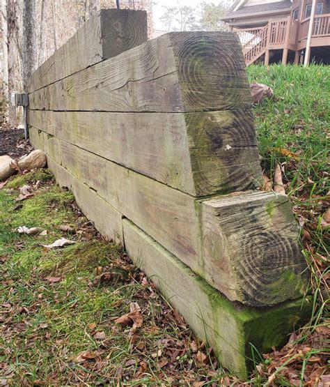 Diy-Wood-Retaining-Wall-Video